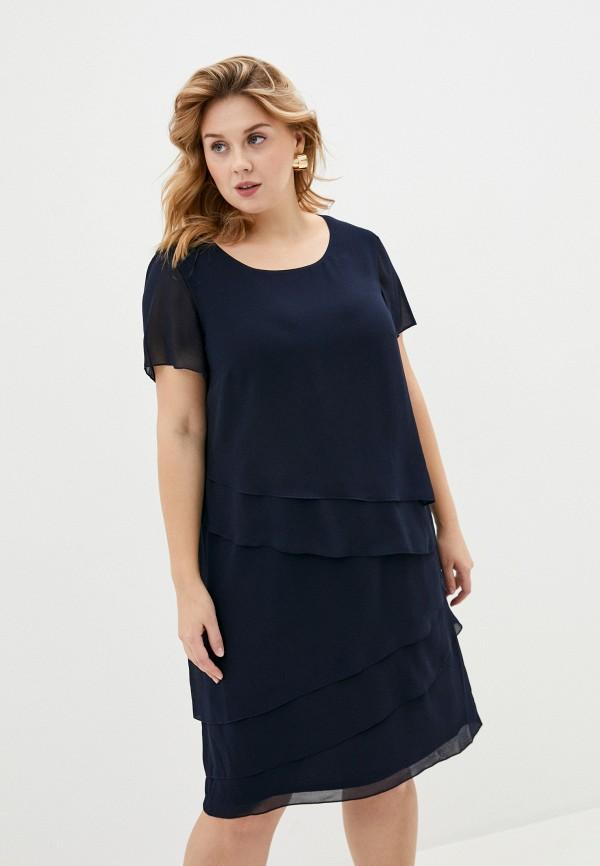 женское вечерние платье gerry weber, синее