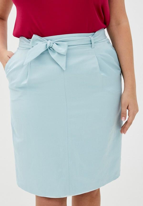 женская прямые юбка gerry weber, голубая