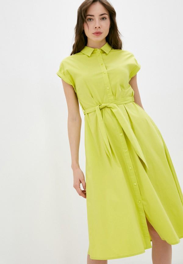 женское платье gerry weber, зеленое