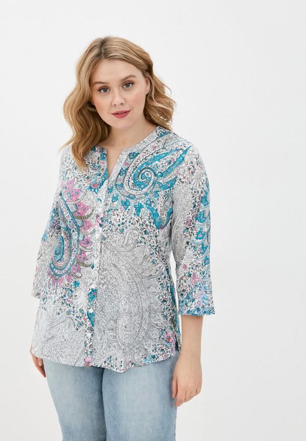 женская рубашка с длинным рукавом gerry weber, разноцветная