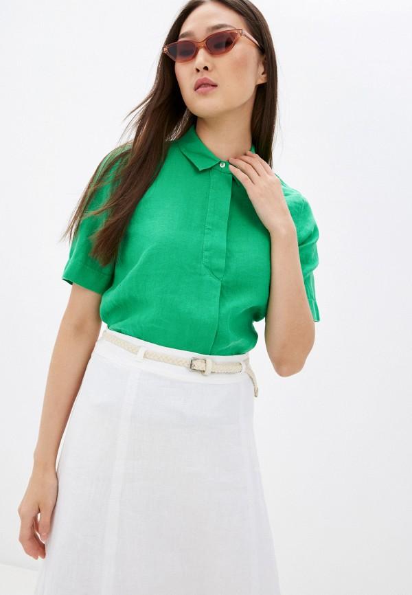 женская блузка gerry weber, зеленая