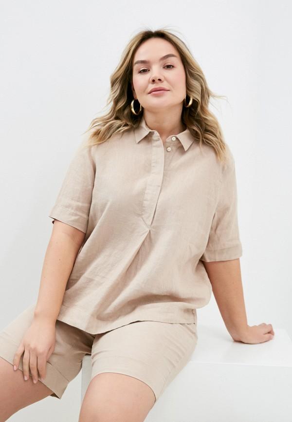 женская блузка gerry weber, бежевая