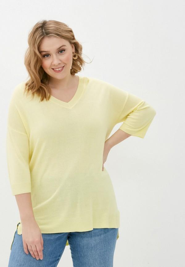 женский пуловер gerry weber, желтый
