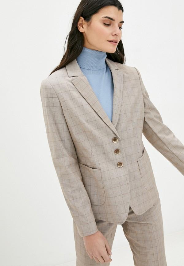 женский пиджак gerry weber, бежевый