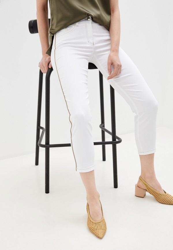женские прямые брюки gerry weber, белые