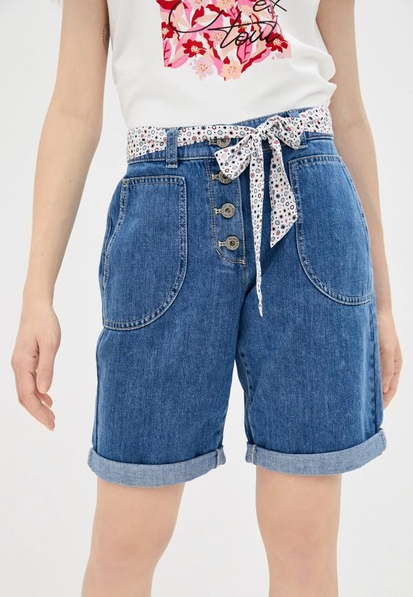женские джинсовые шорты gerry weber, синие