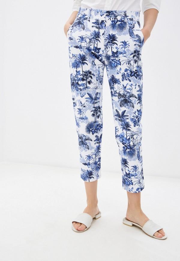 женские зауженные брюки gerry weber, белые