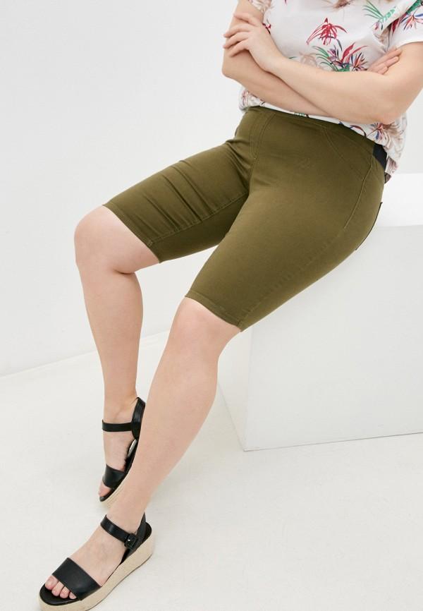 женские повседневные шорты gerry weber, хаки