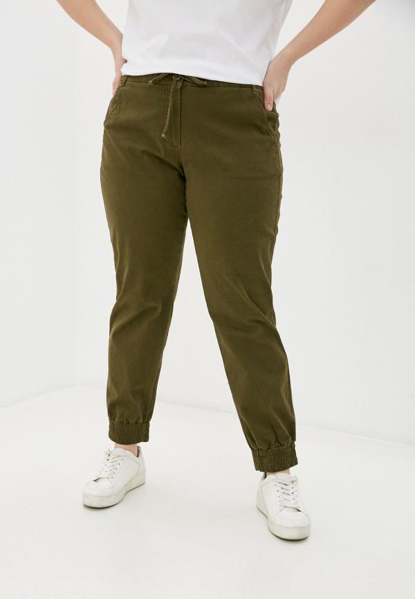 женские зауженные брюки gerry weber, хаки