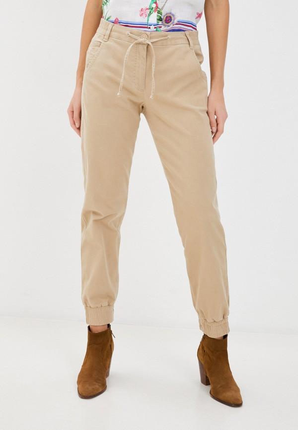женские брюки gerry weber, бежевые