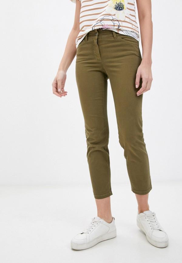 женские повседневные брюки gerry weber, хаки