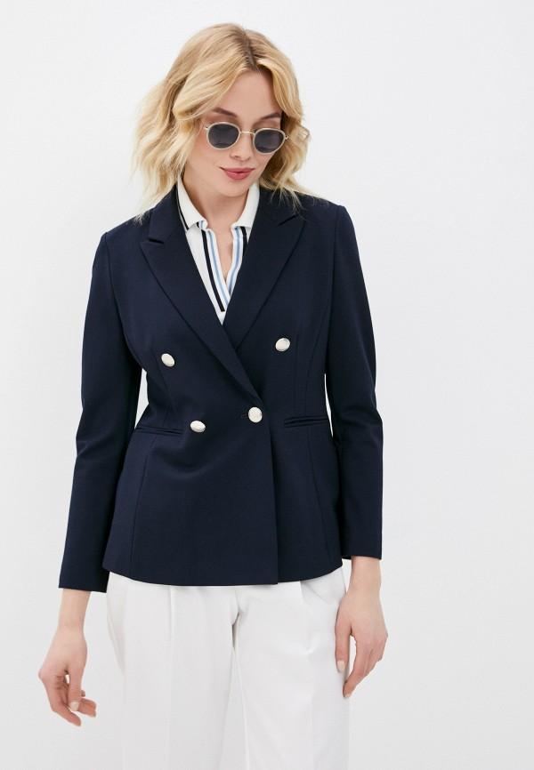 женский пиджак gerry weber, синий