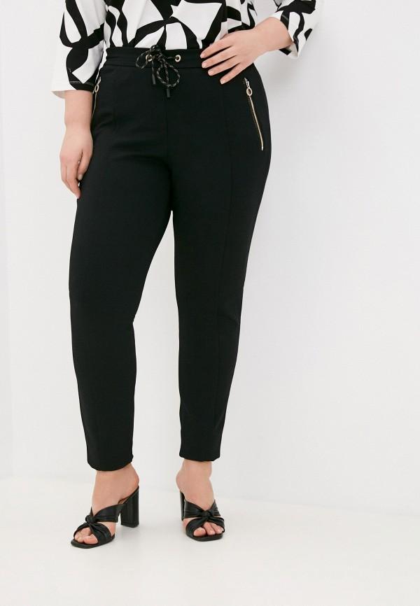 женские зауженные брюки gerry weber, черные