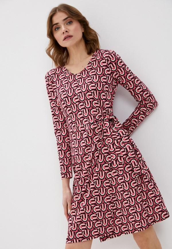 женское повседневные платье gerry weber, розовое