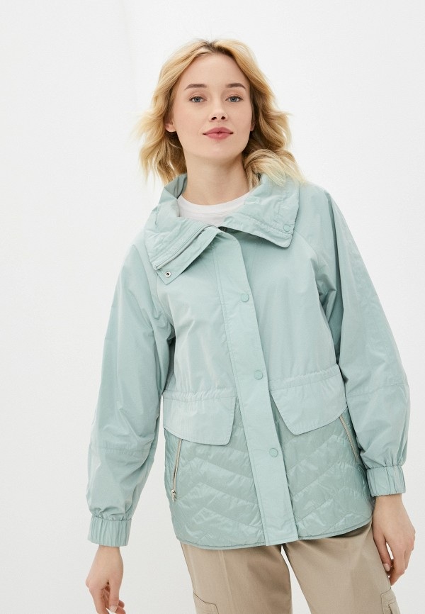 женская куртка gerry weber, бирюзовая