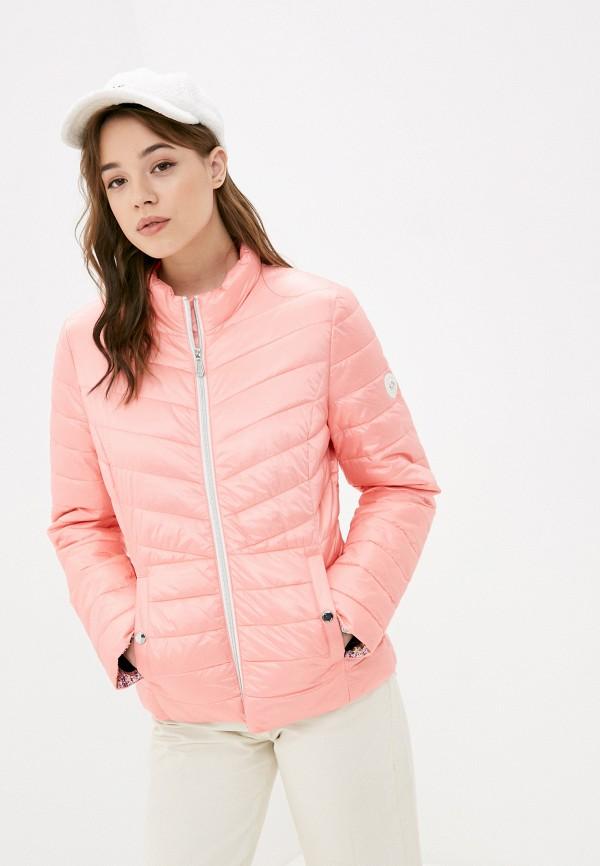 женская куртка gerry weber, розовая