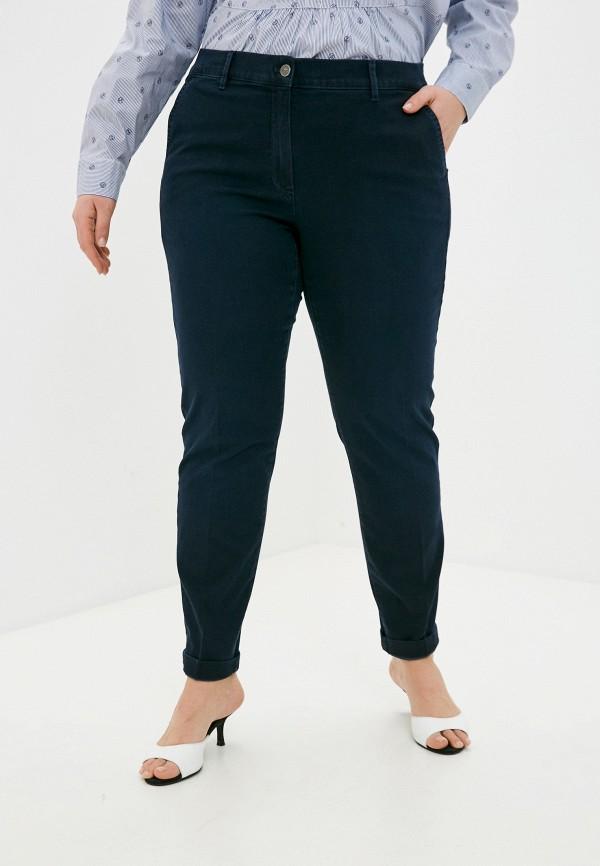 женские прямые брюки gerry weber, синие