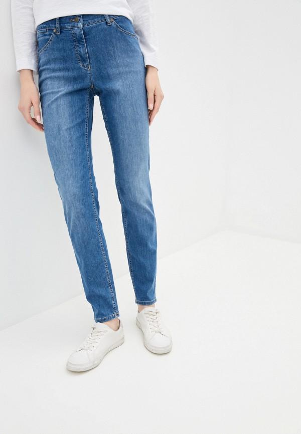 женские джинсы скинни gerry weber, синие
