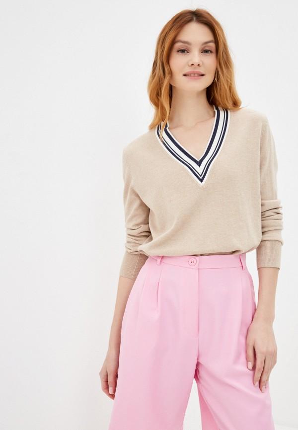 женский пуловер gerry weber, бежевый