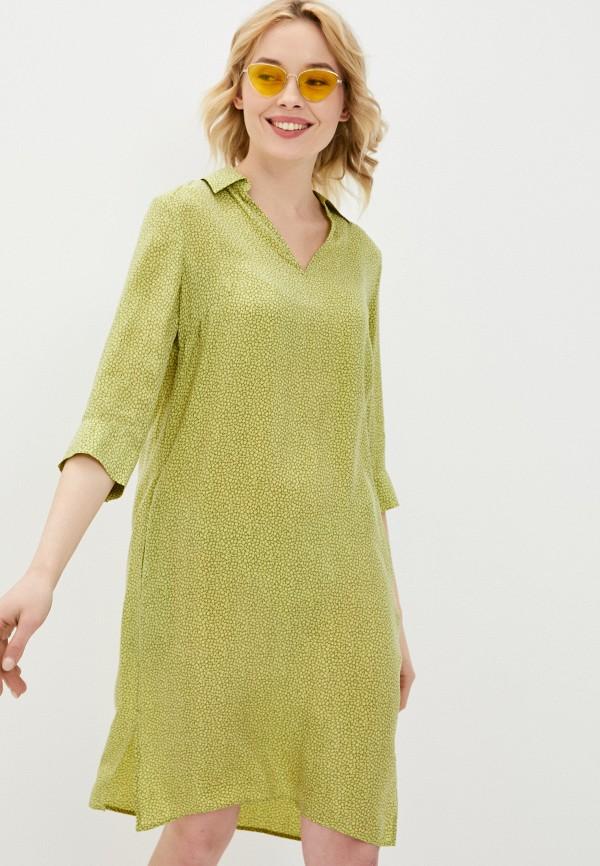 женское повседневные платье gerry weber, зеленое
