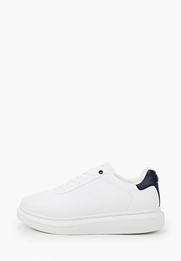 мужские кроссовки geographical norway, белые