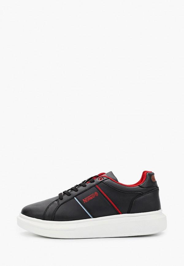 мужские кроссовки geographical norway, черные