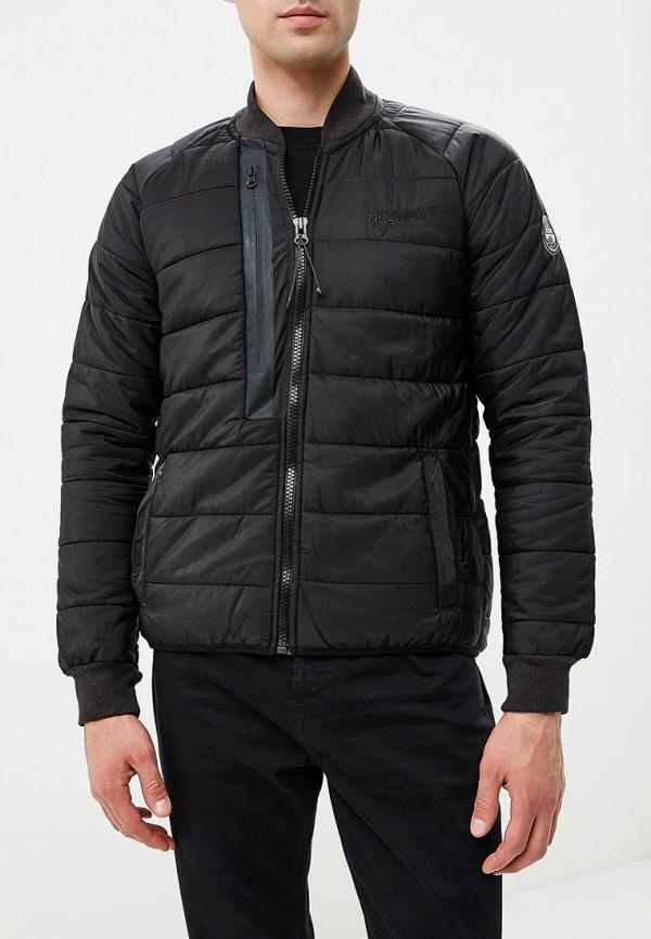 Купить Куртка утепленная Geographical Norway, ge015ematii0, черный, Весна-лето 2018