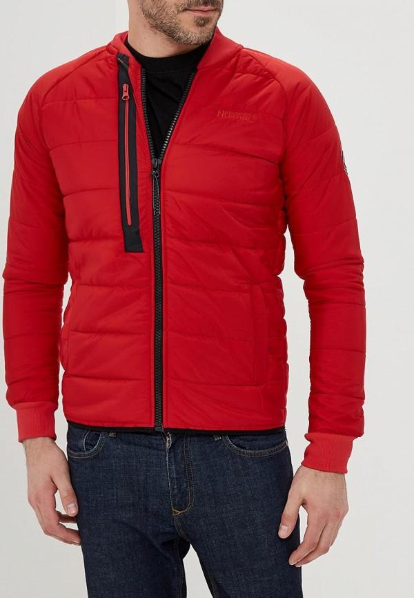 Купить Куртка утепленная Geographical Norway, ge015ematii3, красный, Весна-лето 2018