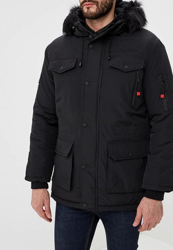 мужская куртка geographical norway, черная