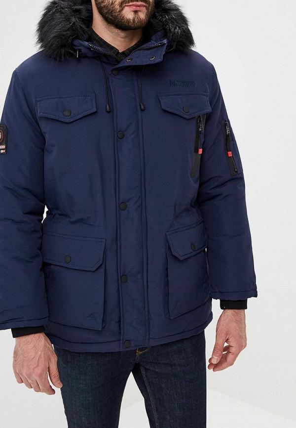 мужская куртка geographical norway, синяя