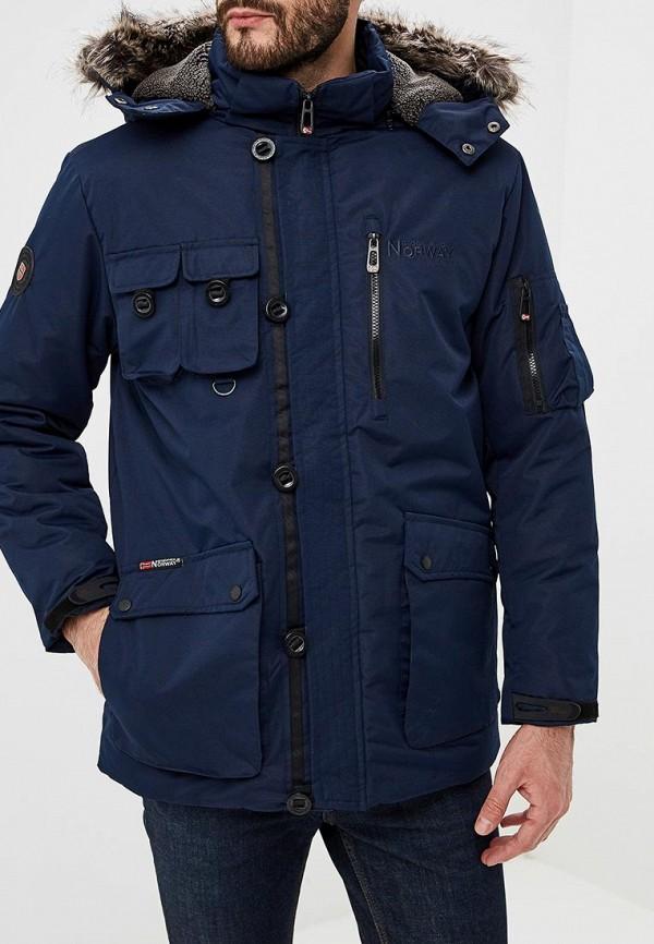 Купить Куртка утепленная Geographical Norway, ge015emdlat7, синий, Весна-лето 2019