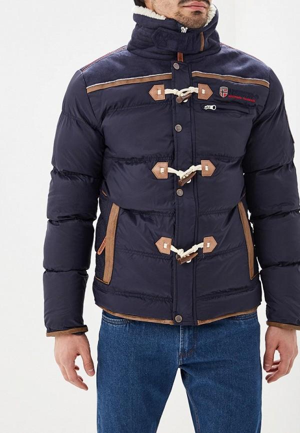 Купить Куртка утепленная Geographical Norway, ge015emdlau3, синий, Весна-лето 2019