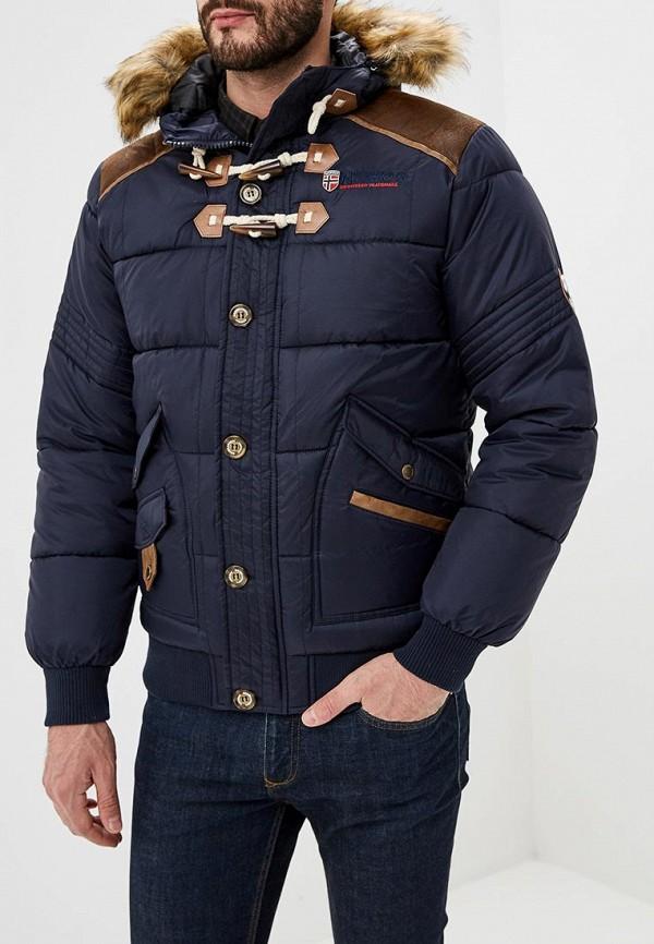 Купить Куртка утепленная Geographical Norway, ge015emdlau6, синий, Весна-лето 2019