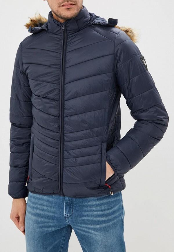 Купить Куртка утепленная Geographical Norway, ge015emdlav2, синий, Весна-лето 2019