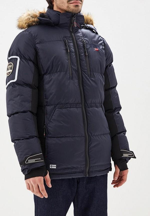 Купить Куртка утепленная Geographical Norway, ge015emdlav4, синий, Весна-лето 2019