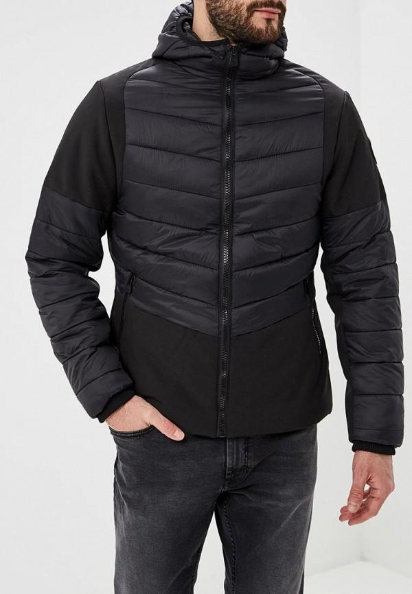 Фото - Куртку утепленная Geographical Norway черного цвета