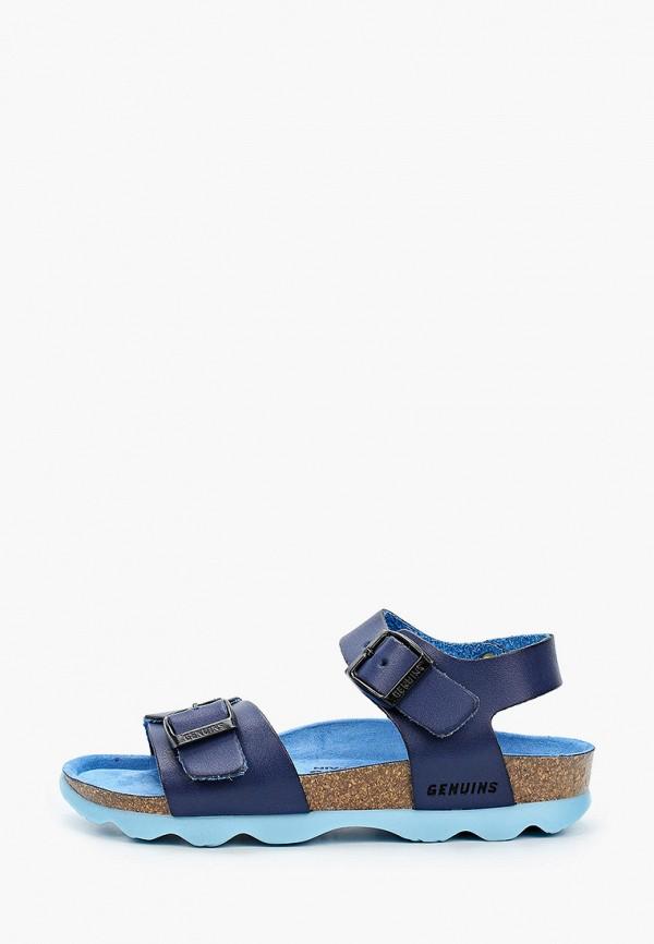 сандалии genuins для мальчика, синие