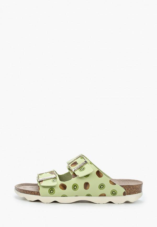 сандалии genuins для девочки, зеленые