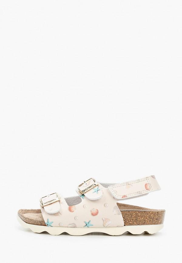 сандалии genuins для девочки, бежевые
