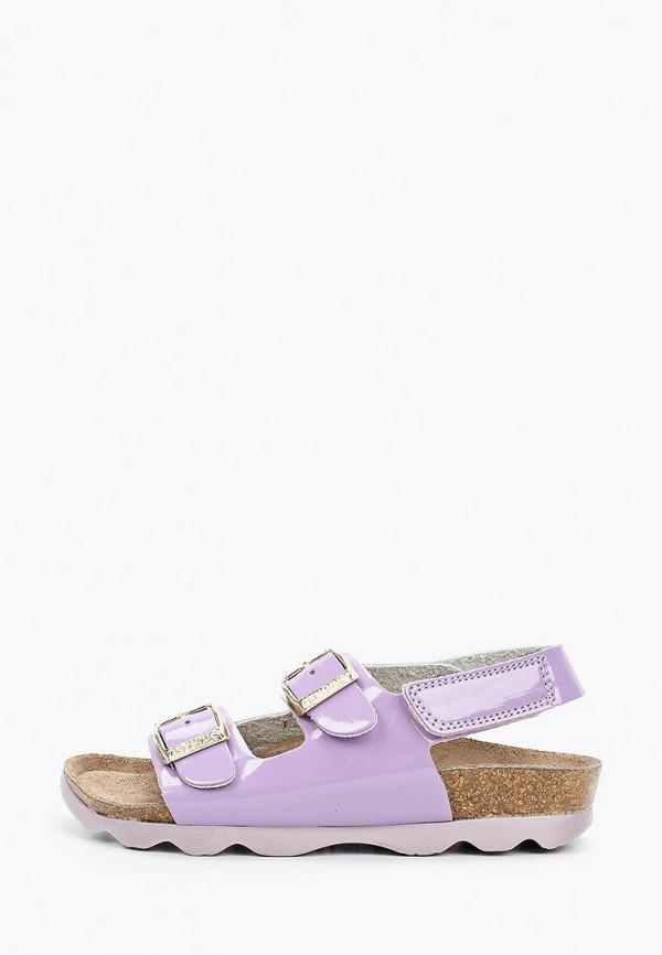 сандалии genuins для девочки, фиолетовые