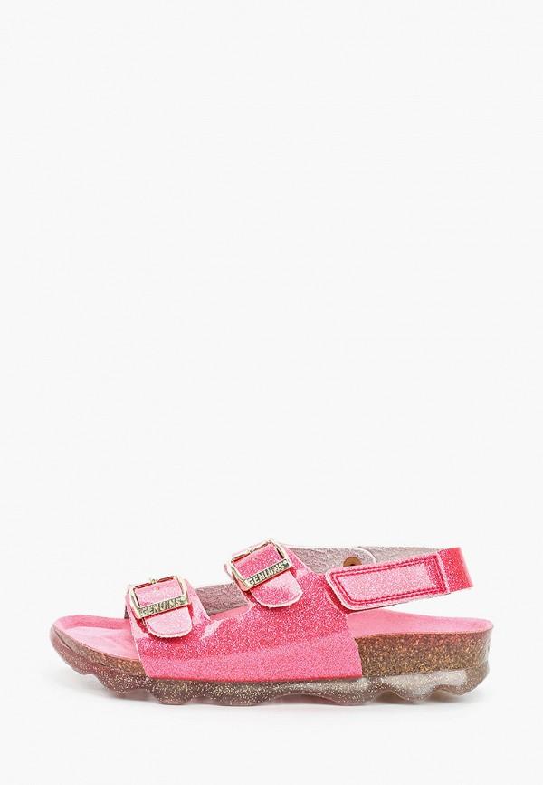 сандалии genuins для девочки, розовые