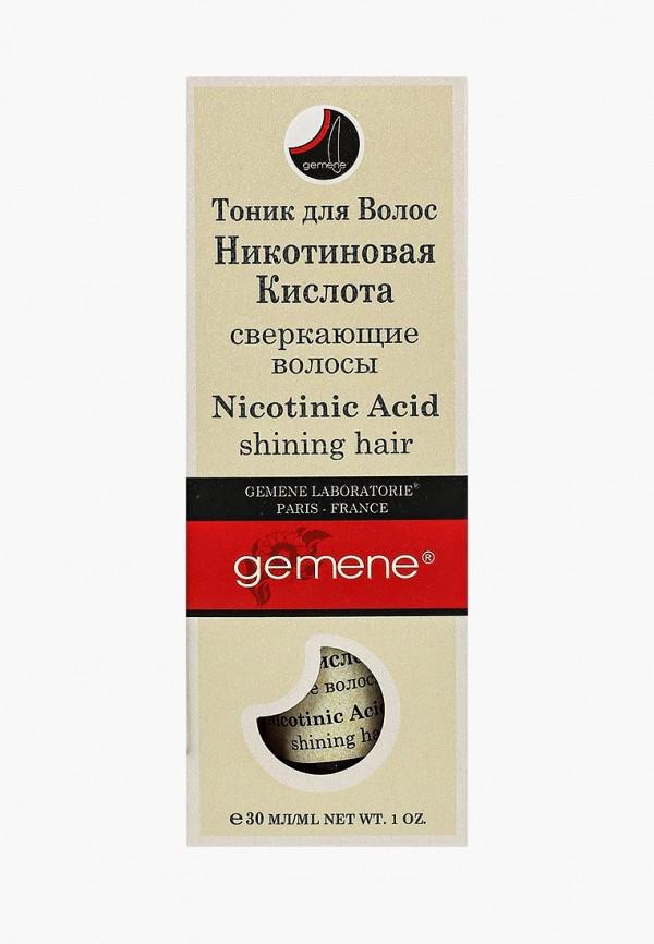 Купить Сыворотка для волос Gemene, с никотиновой кислотой, 30 мл, помпа, GE017LWTAV44, Весна-лето 2018