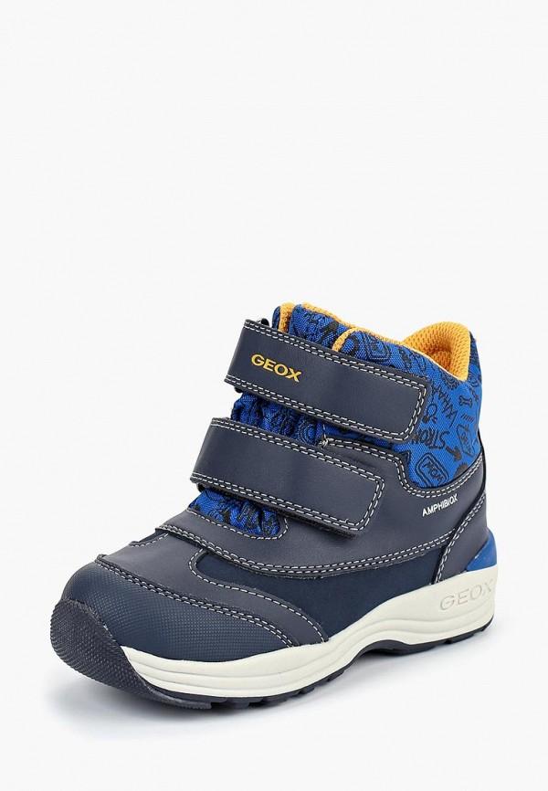 Купить Ботинки Geox, ge347abbydd0, синий, Осень-зима 2018/2019