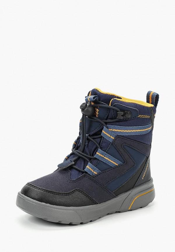 Купить Ботинки Geox, ge347abbydl1, синий, Осень-зима 2018/2019