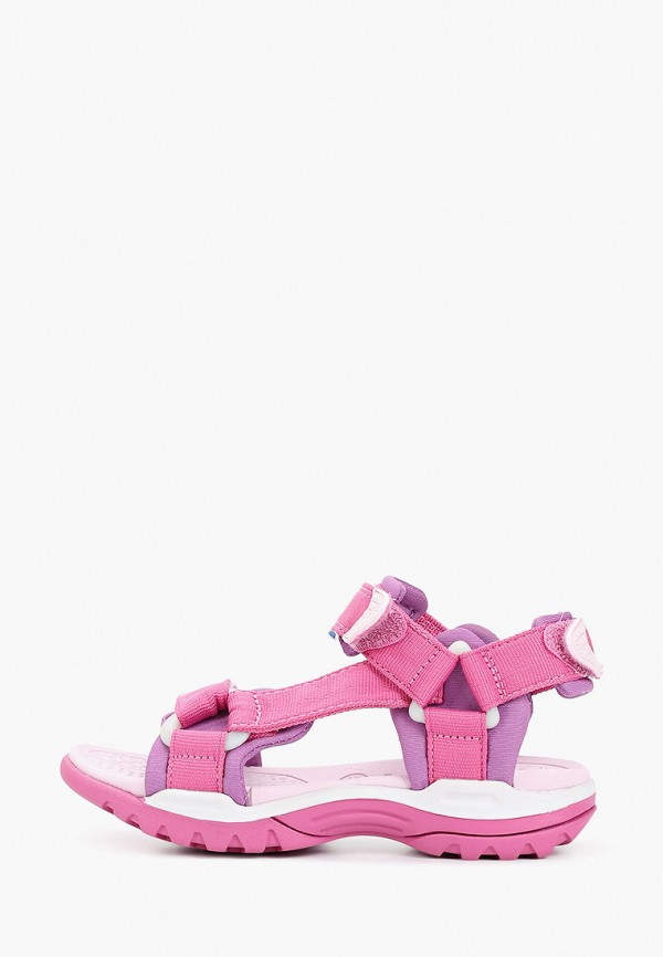 сандалии geox для мальчика, розовые