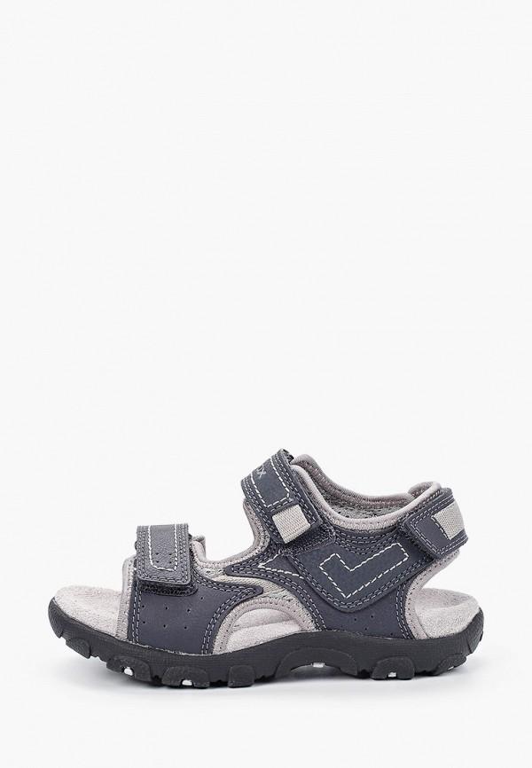 сандалии geox для мальчика, серые