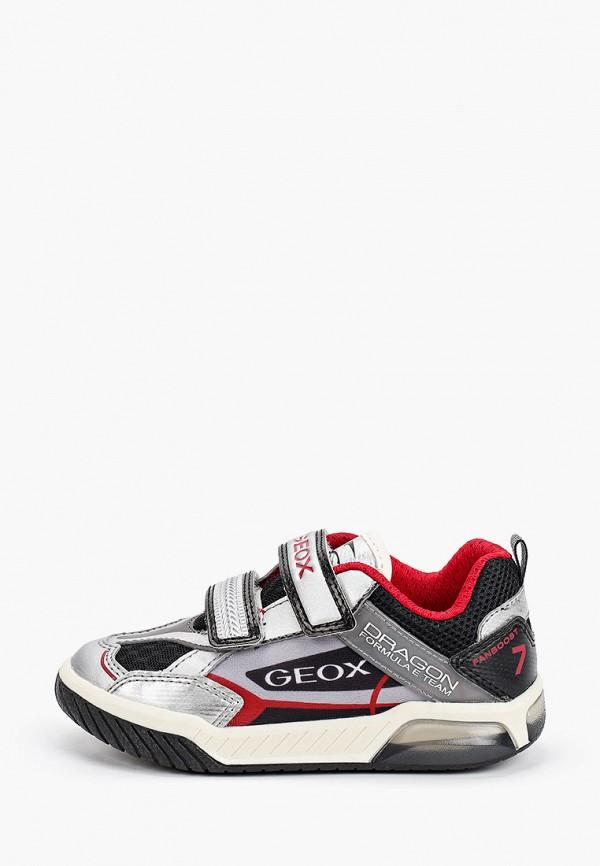кроссовки geox для мальчика, серые