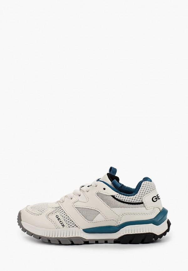 кроссовки geox для мальчика, белые