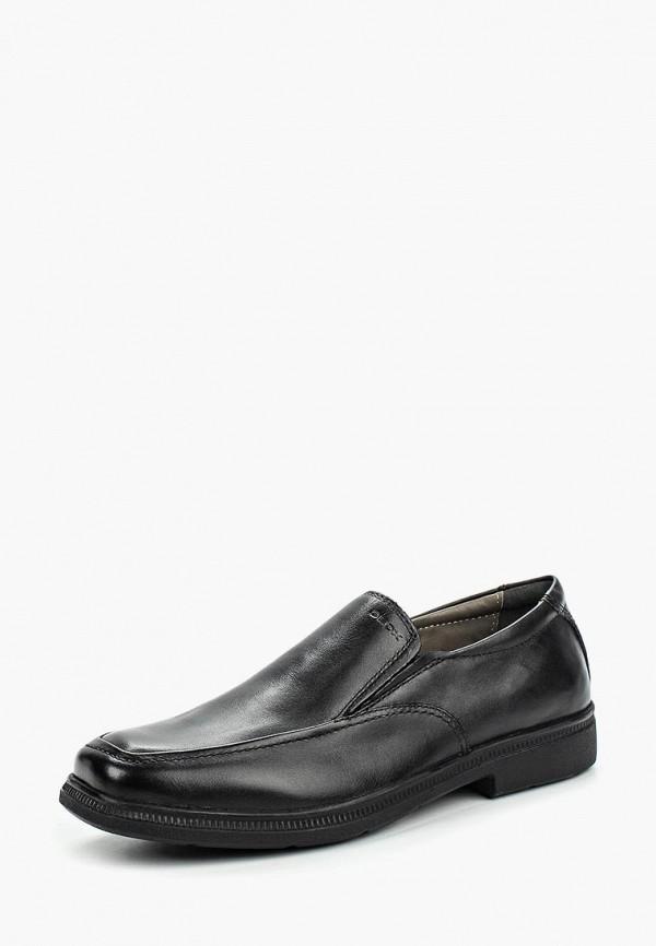туфли geox для мальчика, черные