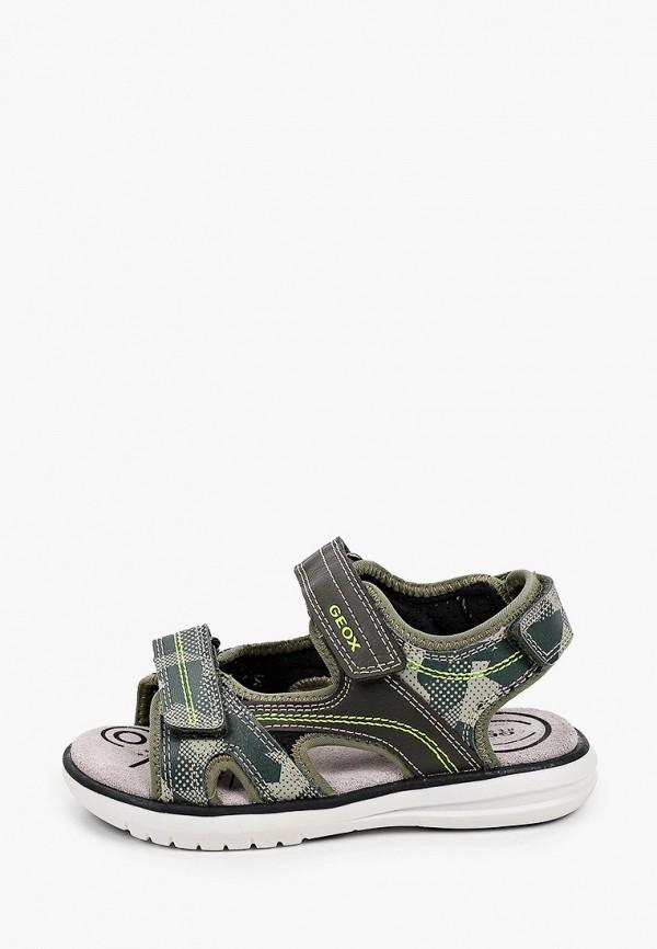 сандалии geox для мальчика, хаки